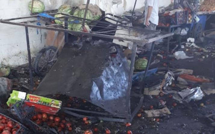 YPG'den Barış Pınarı bölgesinde pazar yerine bombalı saldırı 5 ölü 12 yaralı