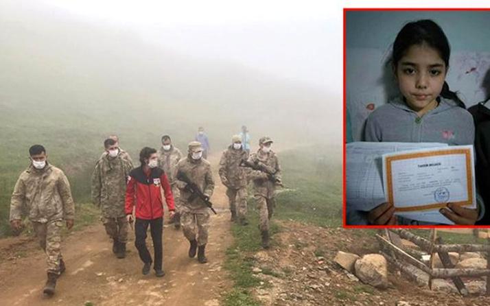 Giresun'da cuma akşamı kaybolan 11 yaşındaki Elif Akbayrak sağ olarak bulundu
