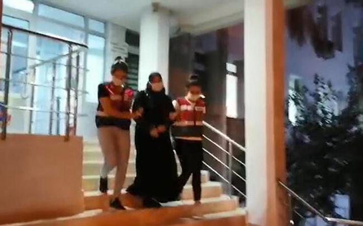 Bursa'da DEAŞ şüphelisi kadın gözaltına alındı
