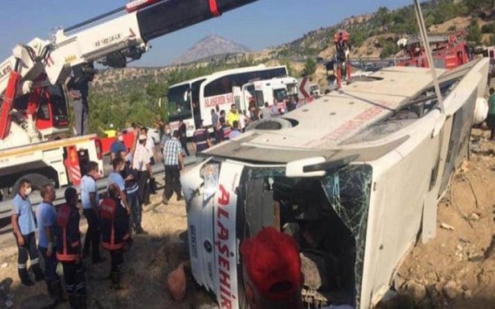 Mersin'deki otobüs kazasında yaralanan 15 asker taburcu edildi