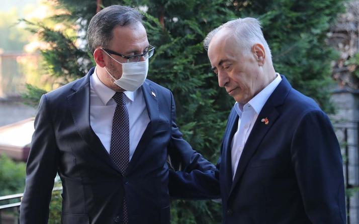Gençlik ve Spor Bakanı Kasapoğlu'ndan Mustafa Cengiz'e geçmiş olsun ziyareti