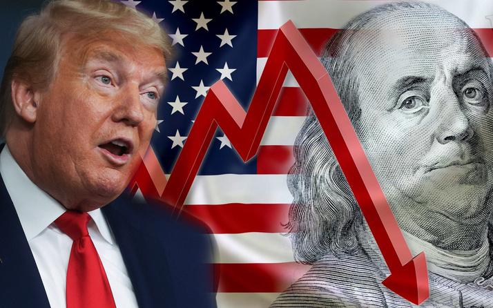 ABD'de tarihi çöküş! Salgın ülke ekonomisini fena vurdu