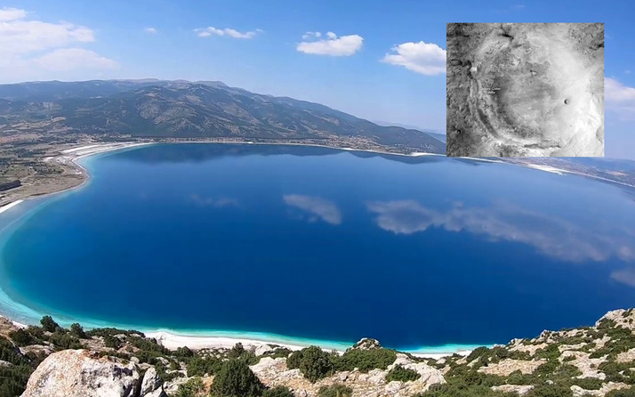 NASA'dan Salda Gölü paylaşımı! Mars'taki Jezero Krateri'ne benziyor