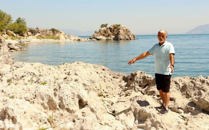 Eğirdir Gölü'nde 11 yıldaki su kaybı miktarı 100 kilometrekareye yaklaştı