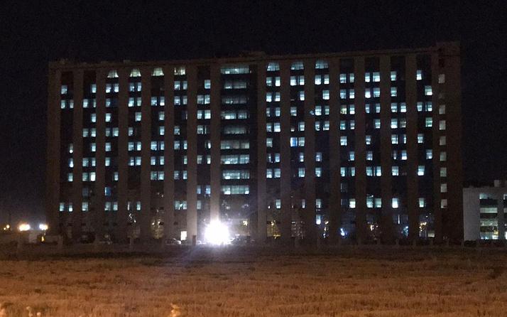 Diyarbakır'daki koronavirüs artışını gösteren fotoğraf! Tüm ışıklar yanıyor