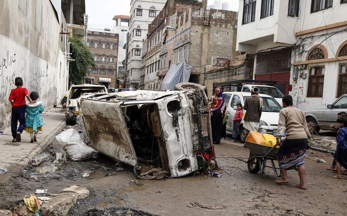 Yemen'de sel nedeniyle 14 kişi hayatını kaybetti