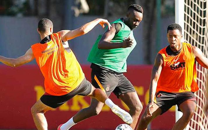 Mbaye  Diagne antremanlardaki performansıyla Fatih Terim'i mest etti