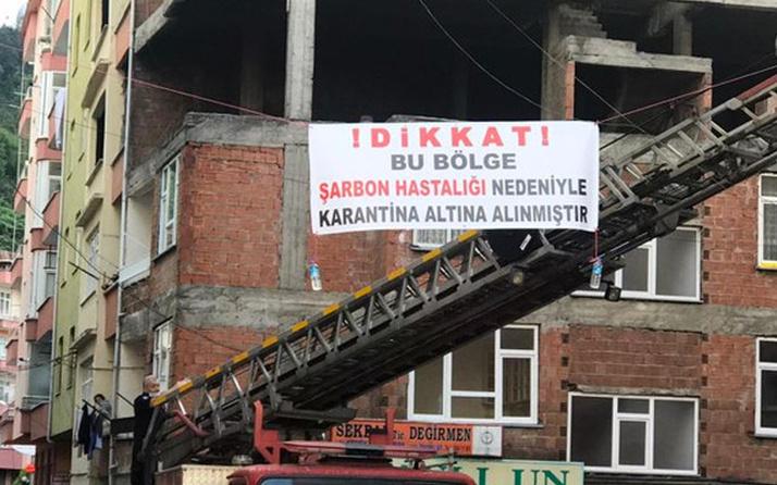 Trabzon Sürmene'de şarbon alarmı! Dağıttığı et herkesi hastanelik etti