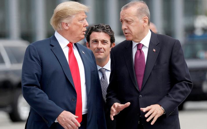 Cumhurbaşkanı Erdoğan'dan Donald Trump mesajı