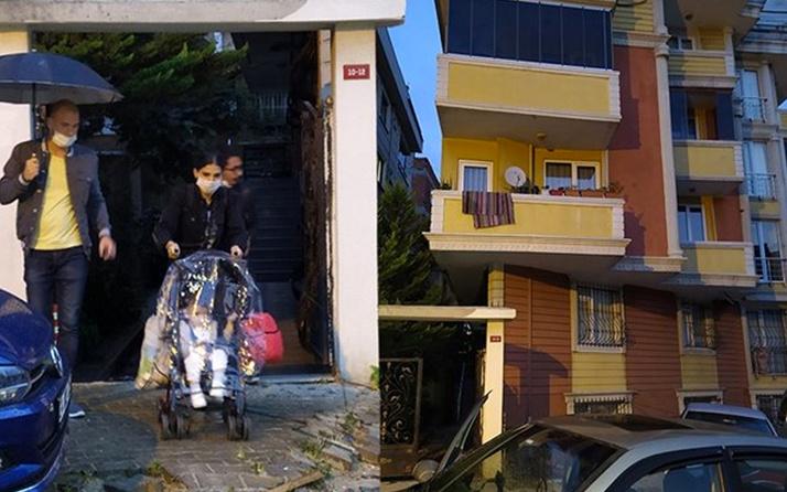 Gaziosmanpaşa'da toprak kayması nedeniyle 5 katlı bina boşaltıldı