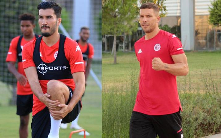 Nuri Şahin ile Lukas Podolski arasındaki buzlar eridi