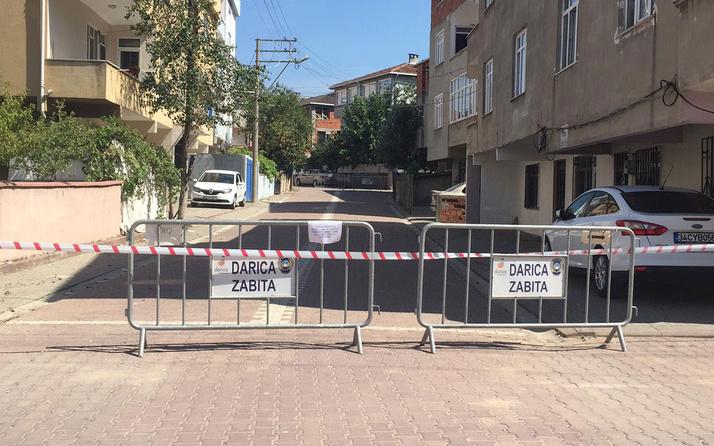 Darıca'da 2 sokak karantinaya alındı