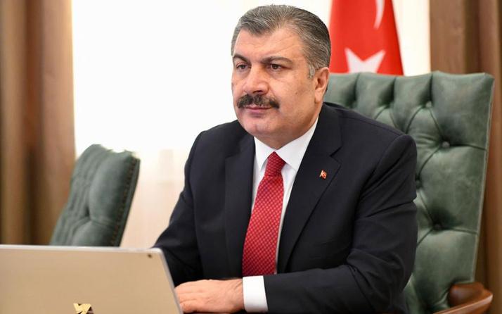 Sağlık Bakanı Fahrettin Koca'dan Büşra hemşireye destek