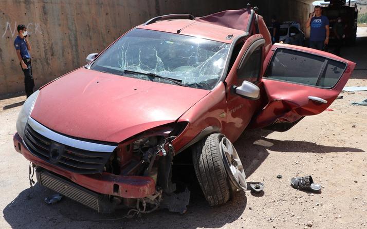 Burdur'da köprüden düşen otomobil ölüm getirdi