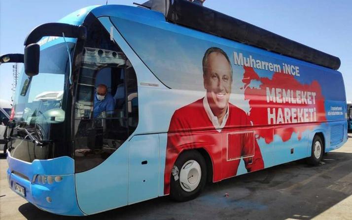 Muharrem İnce yola çıkıyor! 'Memleket Haraketi' otobüsü hazırlandı