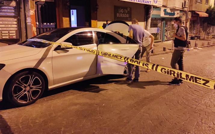 Beyoğlu'nda iş yerine ve lüks bir araca silahlı saldırı