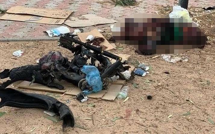 Libya'nın başkenti Trablus'ta motosikletli intihar saldırısı