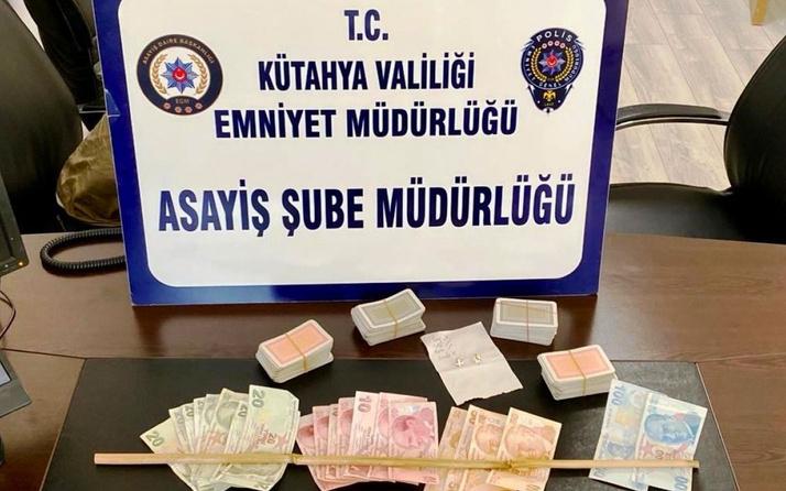 Kütahya'da kumar operasyonu: 18 gözaltı