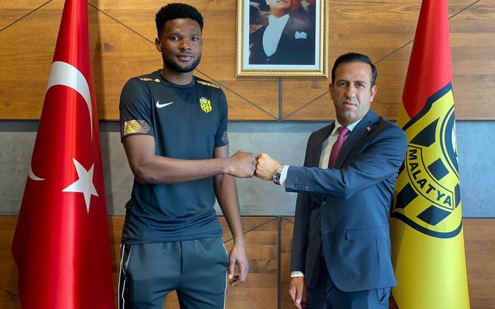 Yeni Malatyaspor Galatasaray'ın alamadığı Tetteh transferini duyurdu