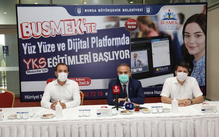 Bursa Büyükşehir'den online dershane