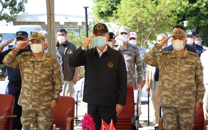 Milli Savunma Bakanı Hulusi Akar Kaş'tan mesaj verdi! Biz barıştan yanayız...
