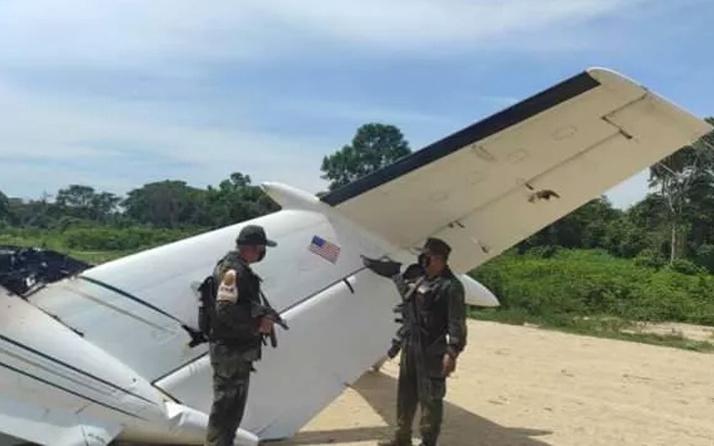 Veneuzela'da ABD uçağı vuruldu resmi açıklama ile duyuruldu