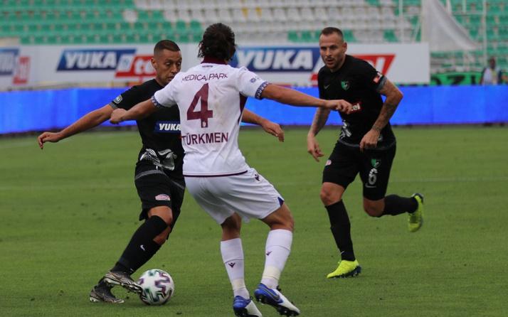 Trabzonspor, Denizli deplasmanından 3 puan çıkaramadı