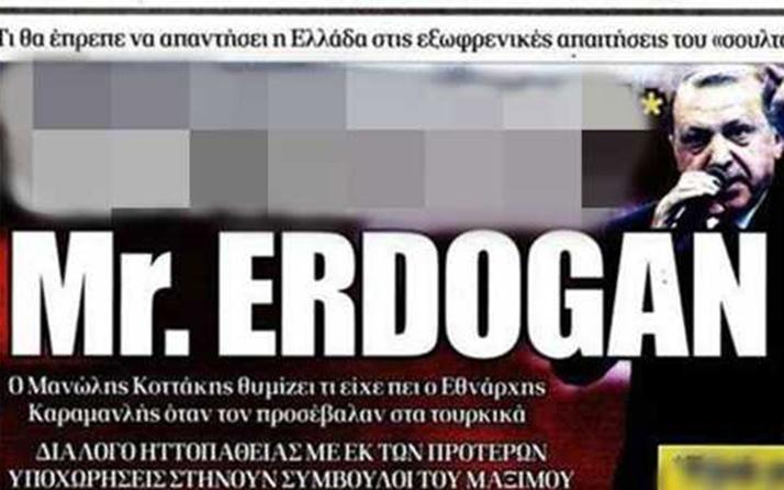 Cumhurbaşkanı Erdoğan'a karşı yapılan Yunan alçaklığının arkasındaki iki isim! Öcalan'ın avukatı ve ajanı