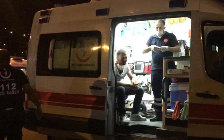 Zonguldak'ta tartıştığı kişinin baltalı saldırısına uğradı