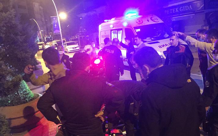 Bolu'da kavga ihbarına giden polis ekiplerine saldırı: 6 yaralı