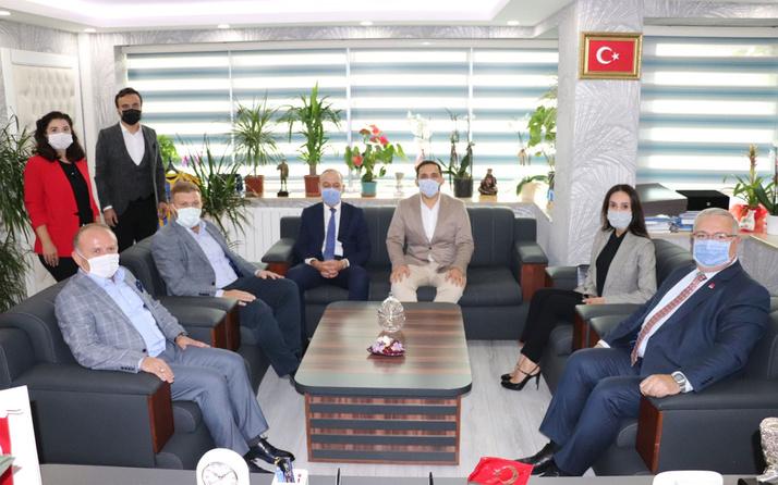 Ankara'da CHP'den İYİ Parti'ye ziyaret
