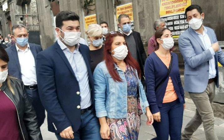 HDP'li vekiller Kars belediye binasına yaklaştırılmadı! Polis müdahale etti