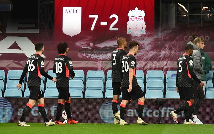 Aston Villa, Liverpool'u darmadağın etti: 7-2