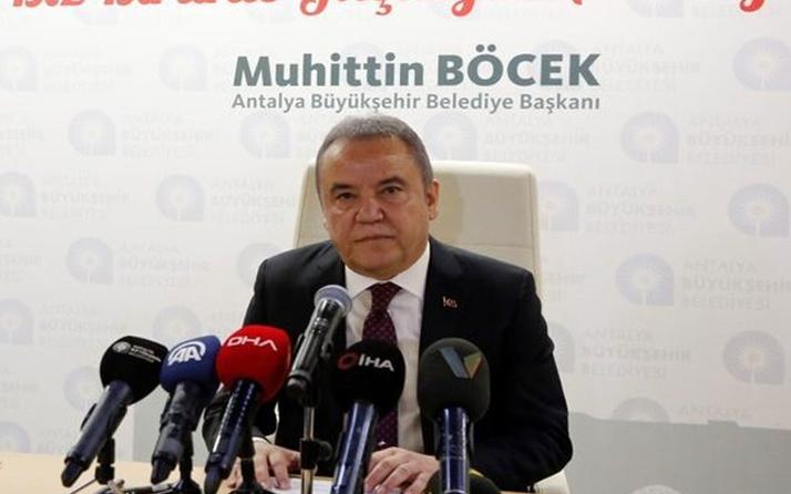 Covid-19'a yakalanan Antalya Büyükşehir Belediye Başkanı Muhittin Böcek'in son sağlık durumu