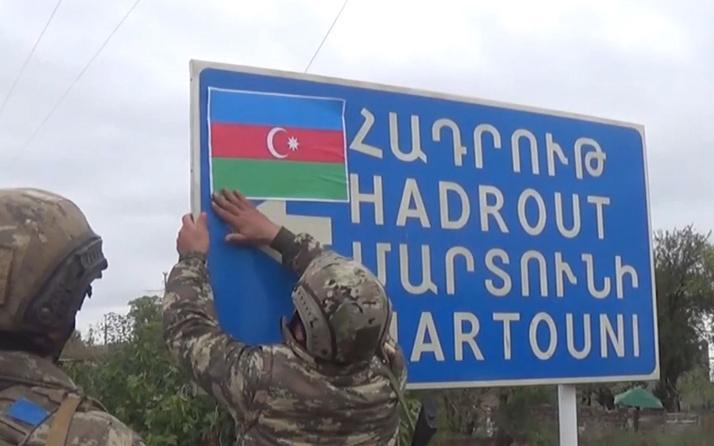 Azerbaycan Ermenistan işgalinden kurtarılan Şükürbeyli köyünün görüntülerini paylaştı