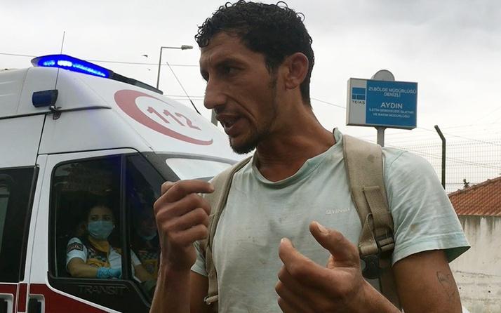 Aydın'da çöpte bulduğu parfümü eve götürünce ölümden döndü