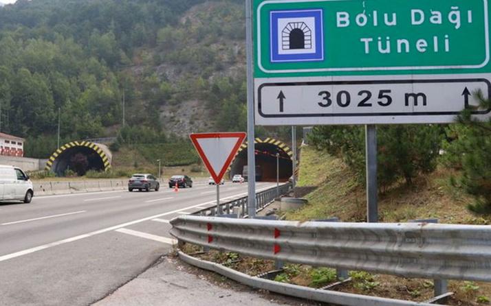 Bolu Dağı Tüneli Ankara yönü ulaşıma kapanacak