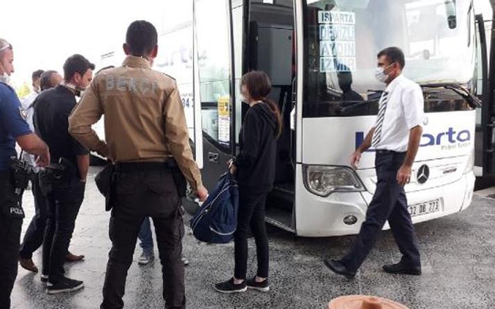 Konya'da evden kaçan 14 yaşındaki kızı polis yakaladı! Otobüste bulundu
