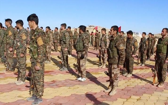 AA terör örgütü PKK'nın Sincar'daki kamplarını görüntüledi