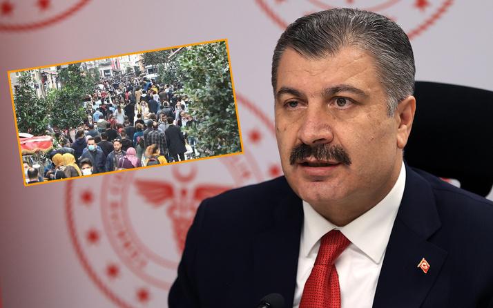 Sağlık Bakanı Koca'dan İstiklal paylaşımı: Sağlam giren hasta çıkar