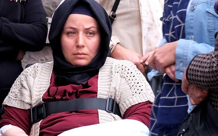 Konya'da cenazede yürek yakan sözler:  Beni Eymen'imin yanına götürün