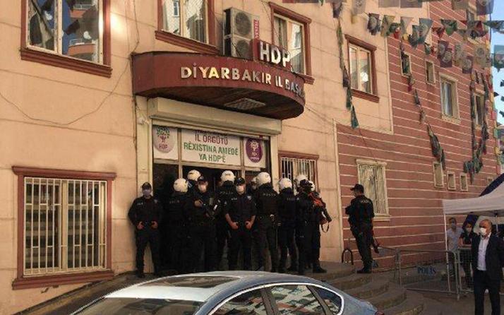 Diyarbakır'da HDP il binasına polis baskını! Aramalar devam ediyor
