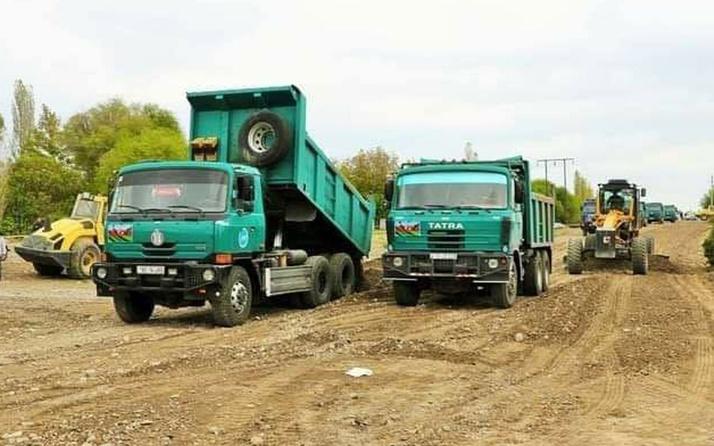 Azerbaycan Ermenistan işgalinden kurtardığı kentlerde yol çalışmasına başladı