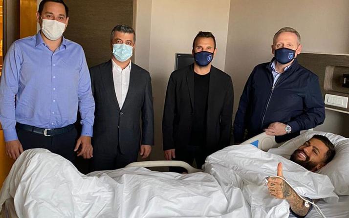 Başakşehir'de Junior Caiçara ameliyat oldu
