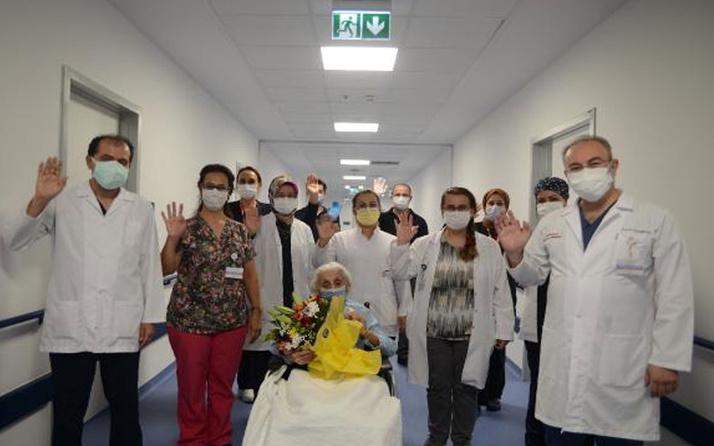 Ankara'dan sevindiren haber! 94 yaşındaki emekli hemşire koronavirüsü yendi