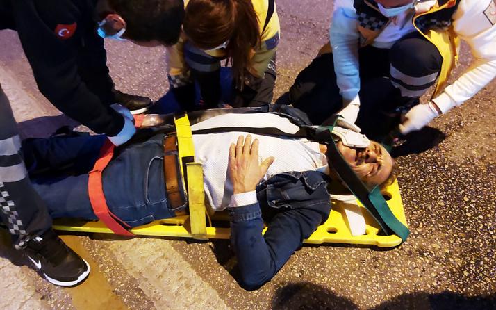 Kazada yaralanan yaya: Yevmiyeciyim, bu şekilde nasıl çalışacağım