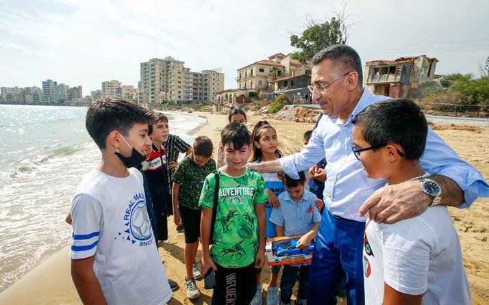 Cumhurbaşkanı Yardımcısı Fuat Oktay'dan KKTC Acil Durum Hastanesi'ne ziyaret