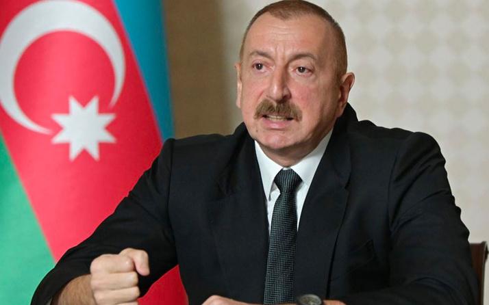 Aliyev: Karabağ'da Ermenistan işgal bölgelerinden çekilirse ateşkes anlaşmasına hazırız