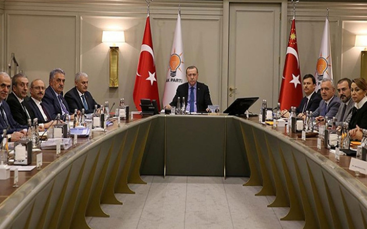 AK Parti MKYK Cumhurbaşkanı Erdoğan başkanlığında toplandı