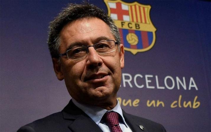 Barcelona Başkanı Josep Maria Bartomeu istifa etti